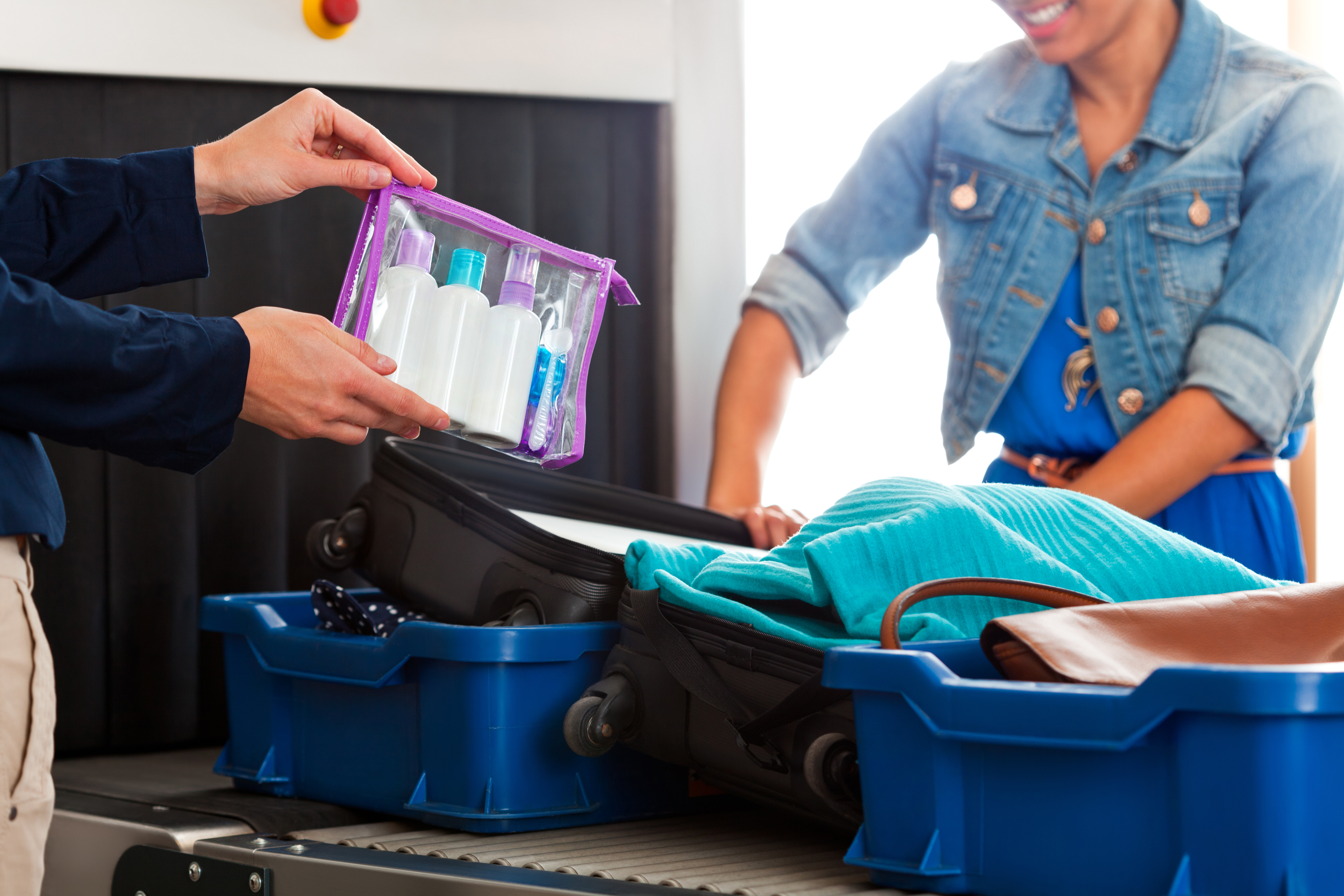 Check TSA wait times and learn what to expect at security checkpoints.