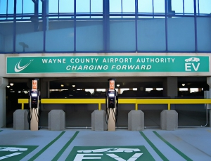 Electric Vehicle Parking | Wayne County Airport Authority